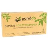 Pandoo Toilettenpapier, 100% Bambus, 8 Rollen, 3-lagig