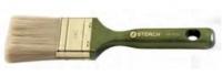 Flachpinsel 20mm, helle Chinaborste, lasierter Holzstiel 041320