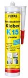 Pufas Konstruktions-Kleber K15 glasklar, 300g
