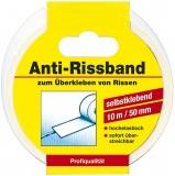 Anti-Rissband weiß 10m x 50mm