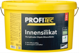 ProfiTec Innensilikat P455, stumpfmatt, weiß, 12,5 Liter