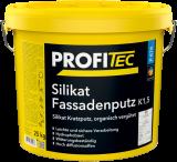 ProfiTec Silikat-Fassadenputz K 20, P476, weiss, 25kg