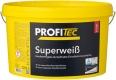 ProfiTec Superweiß P120, weiß, stumpfmatt, 5 Liter
